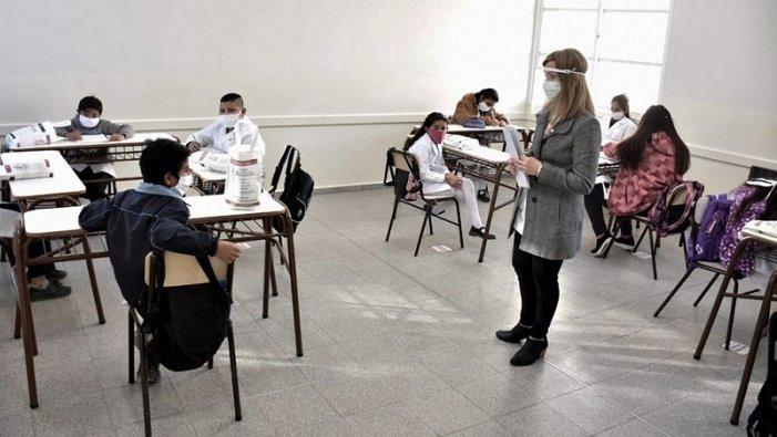 Hay presencialidad escolar en Mendoza